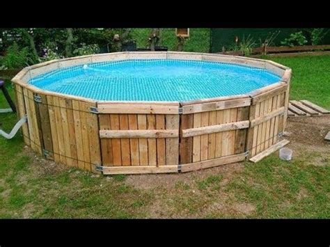 diy build  pool   pallets important tips
