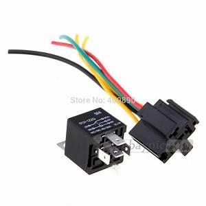 100pcs  Lot 12v Volt Spdt Relay   Wire Socket Car Automotive Alarm 40 Amp 30  40a