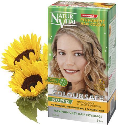 ppd  coloursafe golden blonde   hair dye