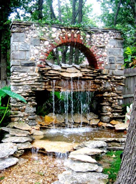 diy waterfall pond ideas water gardens ideas goodhomez