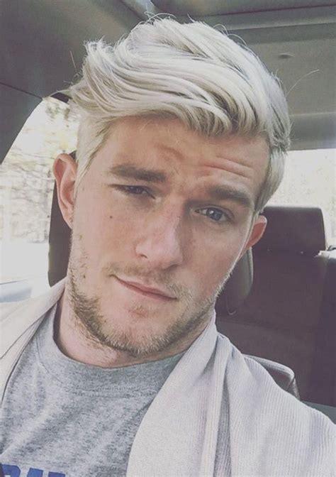 Best 25  White hair men ideas on Pinterest   Silver hair