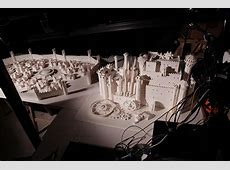 moleskine game of thrones opening from 7,600 paper pieces