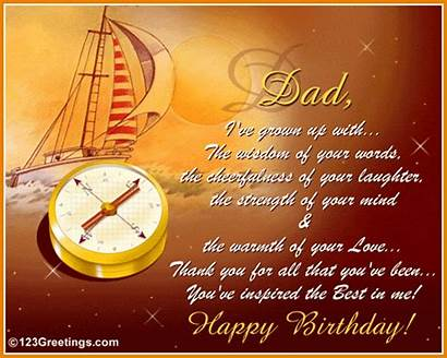 Birthday Happy Status Greetings Quotes Message Dad