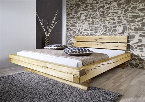 bett aus balken bett balkenbett doppelbett 180x200 cm wildeiche massiv balken schlafzimmer kaufen bei saku