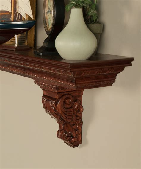 Corbels And Shelves by Mantel Shelf Acanthus Corbels Custom Lengths Premium
