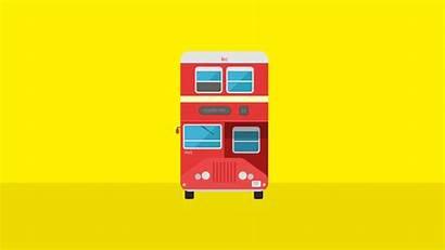 Mumbai Bus Illustration
