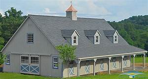 high profile modular barns horizon structures With barn roof topper