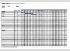 Zeitplan Vorlage Projektplan GANTT & Tagesplan Vorlage