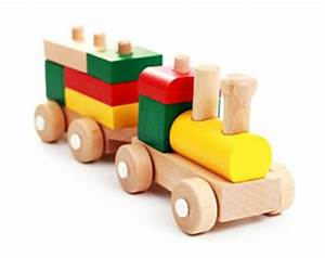 Wooden Toy Trains and Table LoveToKnow