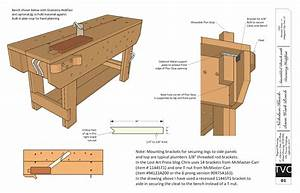 Download: Free Plans for the Knockdown Nicholson Workbench