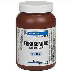 Furosemide 40 Mg  100 Tabs   Manufacture May Vary
