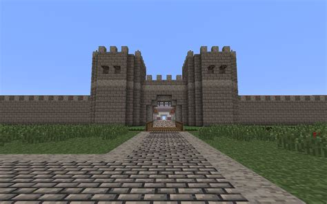 Roman Military Fort Minecraft Project