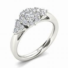 My Diamond Story 14k White Gold 75ctw Bridal Ring Ben