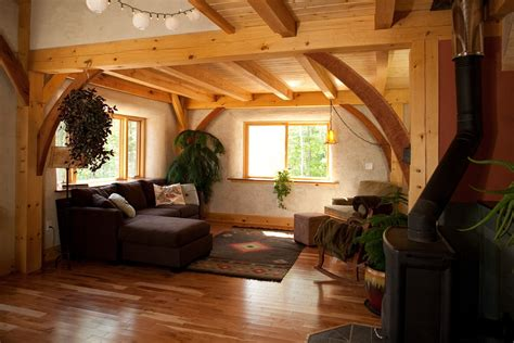 yestermorrow collaboration   natural timberframe home
