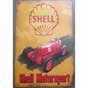 Modele Voiture Plaque : plaque shell motorsport voiture ancienne affiche pub tole m tal ~ Medecine-chirurgie-esthetiques.com Avis de Voitures