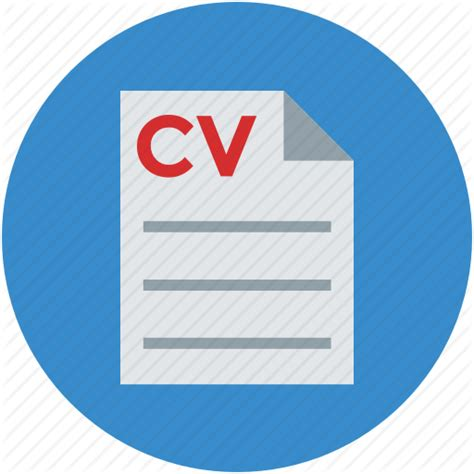 resume icon png curriculum vitae cv experience personal profile