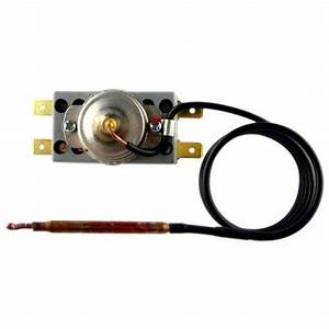 250v 16a Customized Manual Reset Capillary Thermostat For Refrigerator    Water Boiler And Fridge