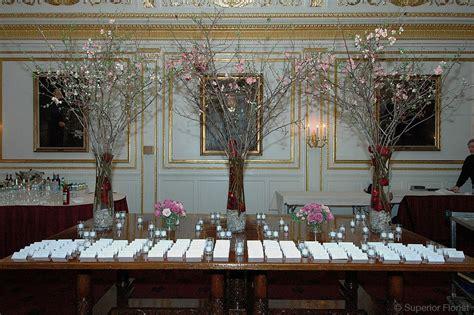 Superior Florist Event Florals — Escort Tables