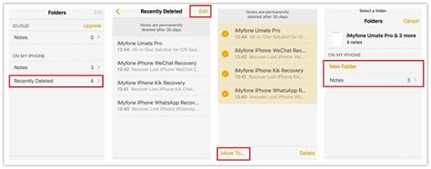 how to undelete notes on iphone 5 ways to recover deleted notes from iphone 7 7 plus 6s 6