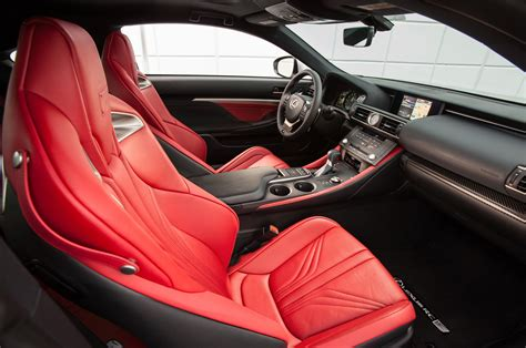 lexus rcf white interior 2015 lexus rc f front interior seats photo 30