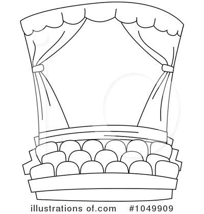 stage clipart black and white theatre clipart black and white pencil and in color