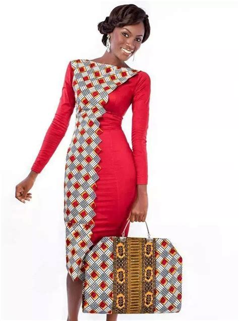 Select A Fashion Style FABULOUS DRESSES MADE FROM AFRICAN INSPIRED FABRIC FOR YOUR EVENING SORTIR
