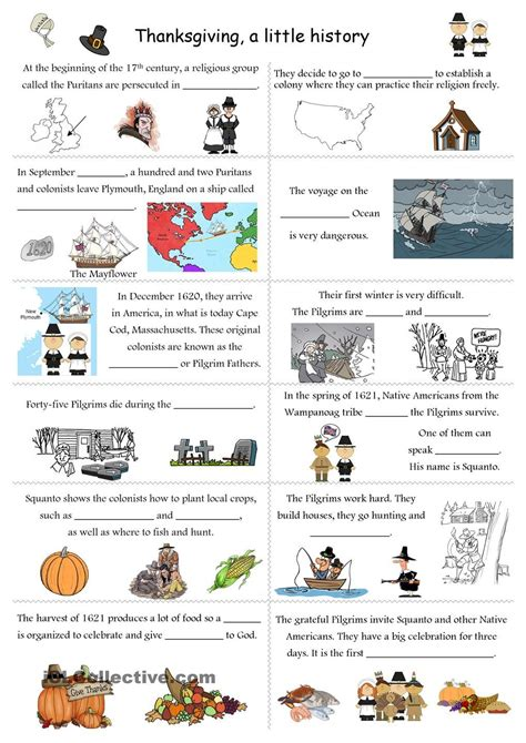 coloring pages kids  printable esl thanksgiving