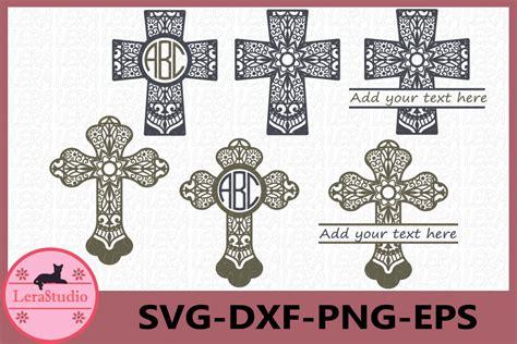 This vector design easy to cut with die cut machines like silhouette cameo, cricut. Cross SVG, Cross Mandala Cut Files, Mandala Svg (244639 ...