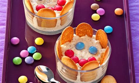 dessert facile pour enfant dessert pour enfants le tiramisu smiley recettes tiramisu recettes tiramisu