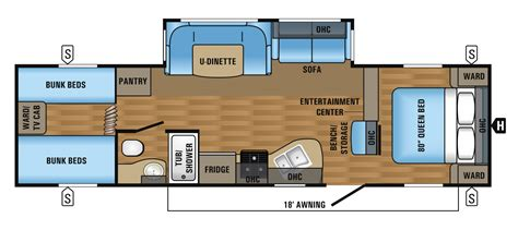 floor plans jayco travel trailers 2017 jay flight travel trailer floorplans prices jayco