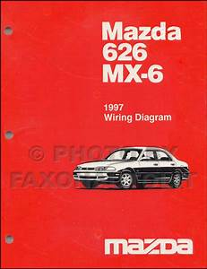 1991 Mazda 626 Mx 6 Mx6 Electrical Wiring Diagram Service Repair Oem 91
