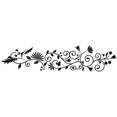 sticker fleurs  plantes decoration stickers nature