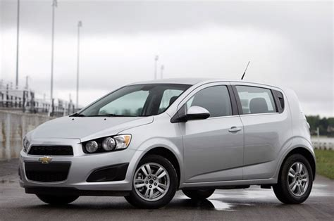 2012 Chevrolet Sonic Checks In Priced From $14,495