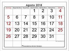 Calendários agosto de 2018 DS Michel Zbinden pt