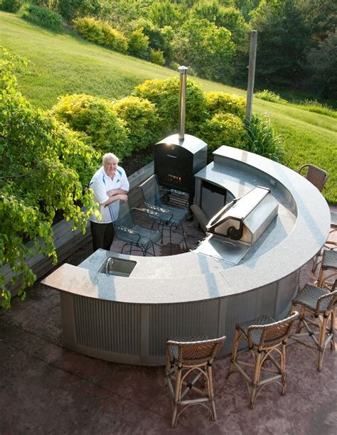 curved kitchen island designs outdoor bar ideas for outdoor decor