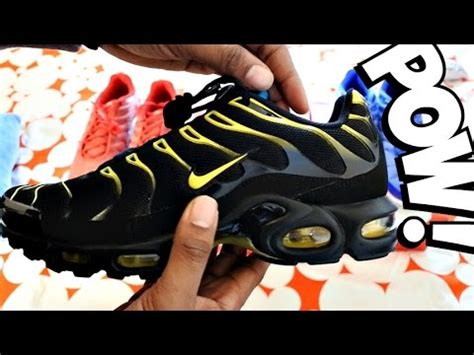 Trying On Nike Tns Tuned 1 Summer Collection 2016 Youtube