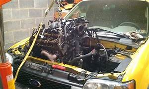 Ford Escape Engine Removal
