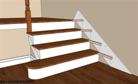 Stair skirt boards photos