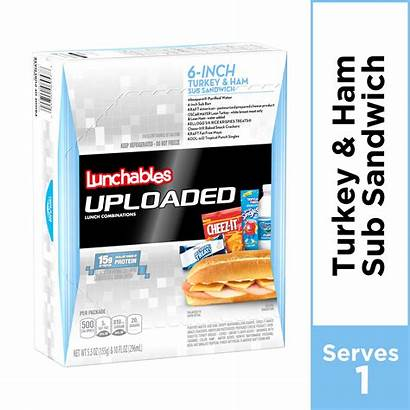 Lunchables Uploaded Sub Turkey Ham Sandwich Walmart