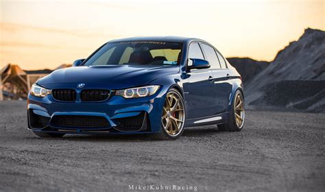 Bmw M3 Equipped With Hre Wheels