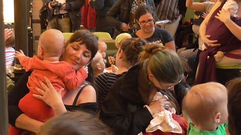 Woman Breastfeeds During Live Tv Interview Video