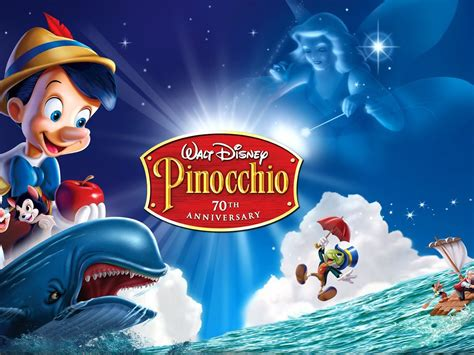 Walt Disney Pinocchio First Time Ever On 2 Disc Platinum ...