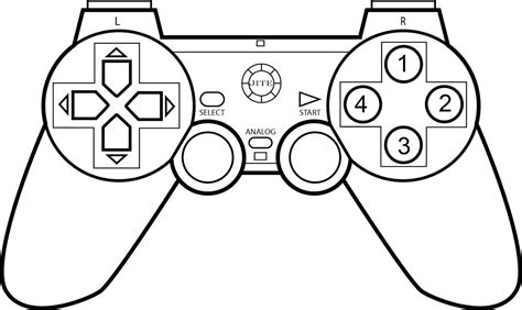 xbox controller coloring pages  getcoloringscom