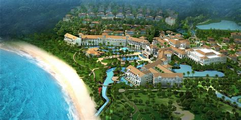 book interior ritz carlton lines up second resort in hainan china
