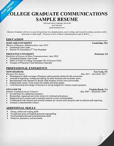 resume writing college graduates With college graduate resume template