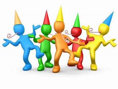 Clipart Party Office Happy Birthday Fun Celebrate