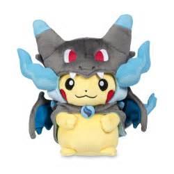 mega charizard x costume pikachu poké plush (standard size) 10 quot; 701