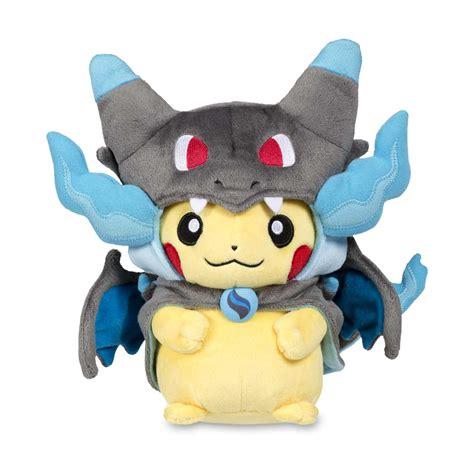 mega charizard  costume pikachu poke plush pokemon