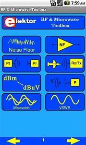 elektor rf microwave app for android circuit cellar With noise floor calculator