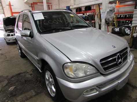 Parting Out 2002 Mercedes Ml500  Stock # 160049 Tom's